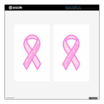 Cure Breast Cancer Decal For Kindle Fire