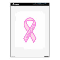 Cure Breast Cancer iPad 3 Skins
