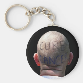 Cure Cancer Keychain