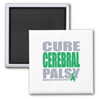 Cure Cerbral Palsy 2 Inch Square Magnet