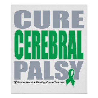 Cure Cerbral Palsy Poster