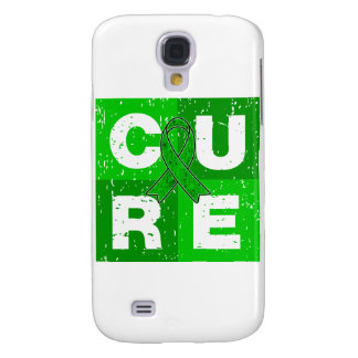 CURE Cerebral Palsy Distressed Cube Galaxy S4 Case