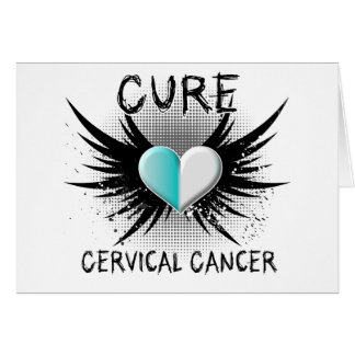 Cure Cervical Cancer Greeting Cards