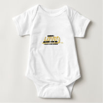 Cure Childhood Cancer Awareness Baby Bodysuit