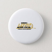 Cure Childhood Cancer Awareness Button