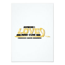 Cure Childhood Cancer Awareness Card