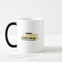 Cure Childhood Cancer Awareness Magic Mug