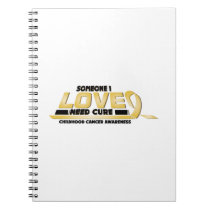 Cure Childhood Cancer Awareness Notebook