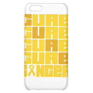 CURE Childhood Cancer Collage iPhone 5C Cases