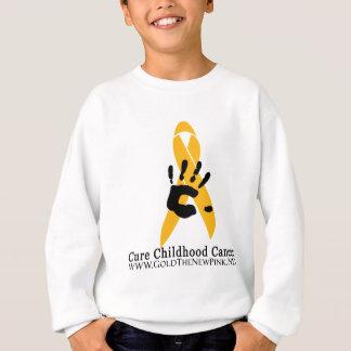 CURE Childhood Cancer for the Angel Kids Sweatshirt