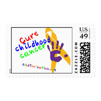 CURE Childhood Cancer Postage