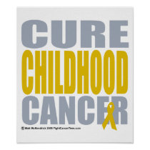 Cure Childhood Cancer Poster