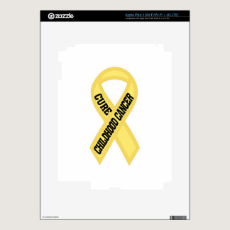 Cure Childhood Cancer Skin For iPad 3