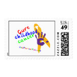 CURE Childhood Cancer Stamps