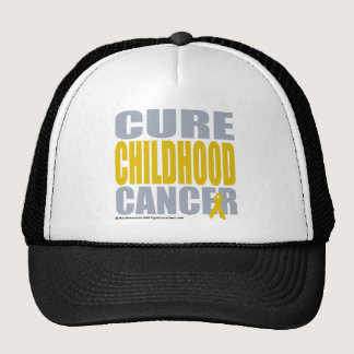 Cure Childhood Cancer Trucker Hat