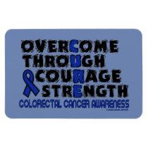 CURE...COLORECTAL CANCER MAGNET