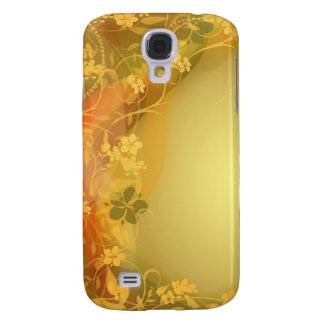 Cure colorful flower creepers galaxy s4 cover