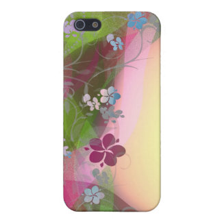Cure colorful flower creepers iPhone SE/5/5s cover