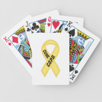 Cure COPD Bicycle Playing Cards