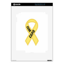 Cure COPD Decal For The iPad 2