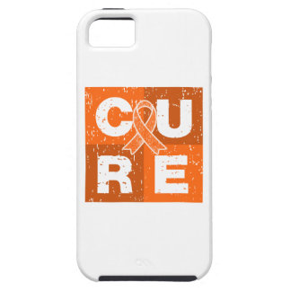 CURE COPD Distressed Cube iPhone 5 Cases