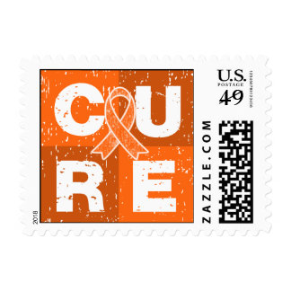 CURE COPD Distressed Cube Postage