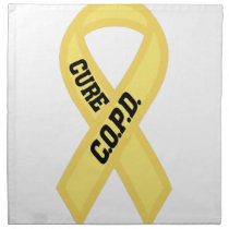 Cure COPD Napkin