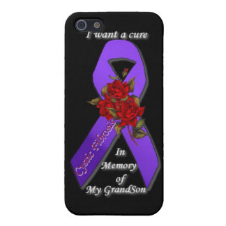 CURE CYSTIC FIBROSIS IN MEMORY OF MY GRANDSON iPhone SE/5/5s COVER