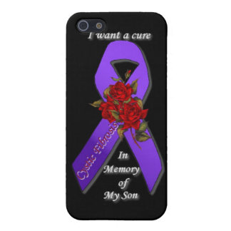 CURE CYSTIC FIBROSIS IN MEMORY OF MY SON iPhone SE/5/5s CASE