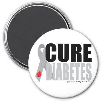 Cure Diabetes Ribbon Magnet