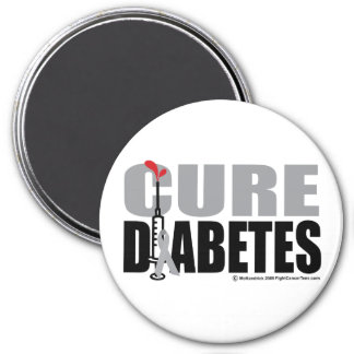 Cure Diabetes Syringe Magnet