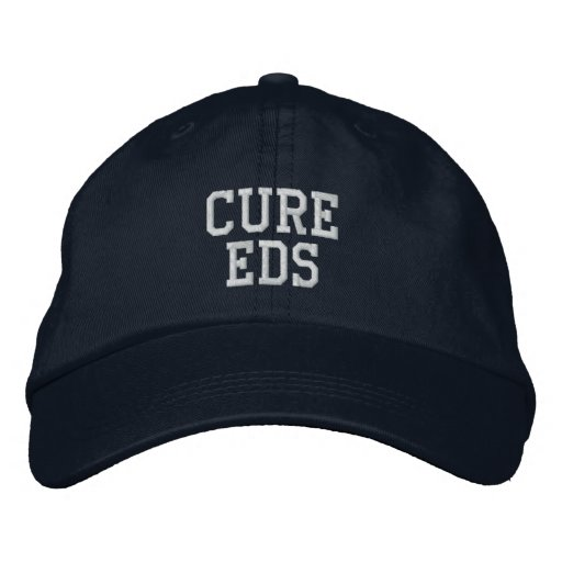 """Cure EDS"" - Embroidered Hat"