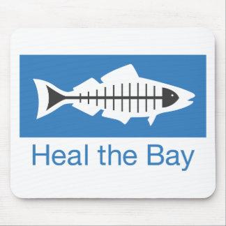 Cure el Swag de la bahía Alfombrillas De Ratones