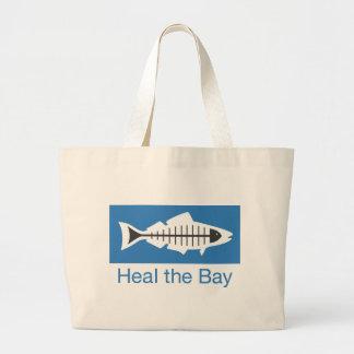 Cure el Swag de la bahía Bolsa Tela Grande