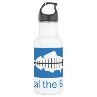 Cure el Swag de la bahía Botella De Agua