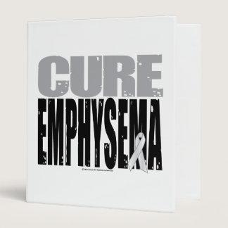 Cure Emphysema 3 Ring Binder
