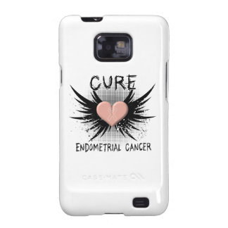 Cure Endometrial Cancer Galaxy SII Covers