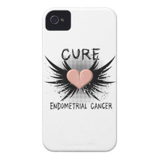 Cure Endometrial Cancer iPhone 4 Case-Mate Case