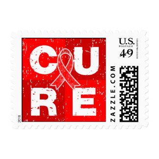 CURE Epidermolysis Bullosa Cube Postage Stamp
