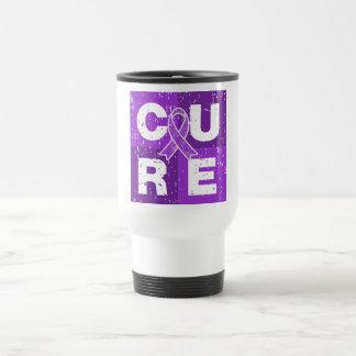 CURE Epilepsy Distressed Cube Coffee Mugs