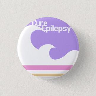 """Cure Epilepsy"" Mini Button"