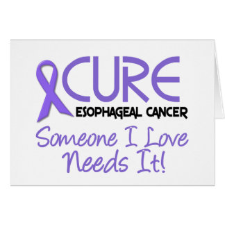 CURE Esophageal Cancer 2 Greeting Card