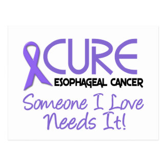 CURE Esophageal Cancer 2 Postcard