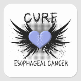 Cure Esophageal Cancer Square Sticker
