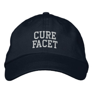 """Cure Facet"" - Embroidered Hat"