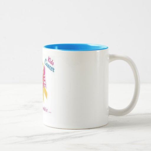 Cure for Kids Cancer, wear gold for my daughter in Mugs