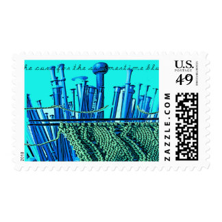 """""""Cure for the Summertime Blues"""" postage"""
