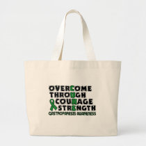 CURE...Gastroparesis Large Tote Bag
