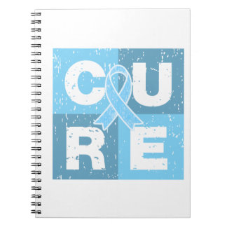 CURE Graves Disease Cube Spiral Note Book