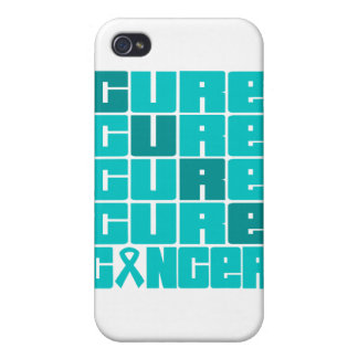 CURE Gynecologic Cancer Collage Cases For iPhone 4